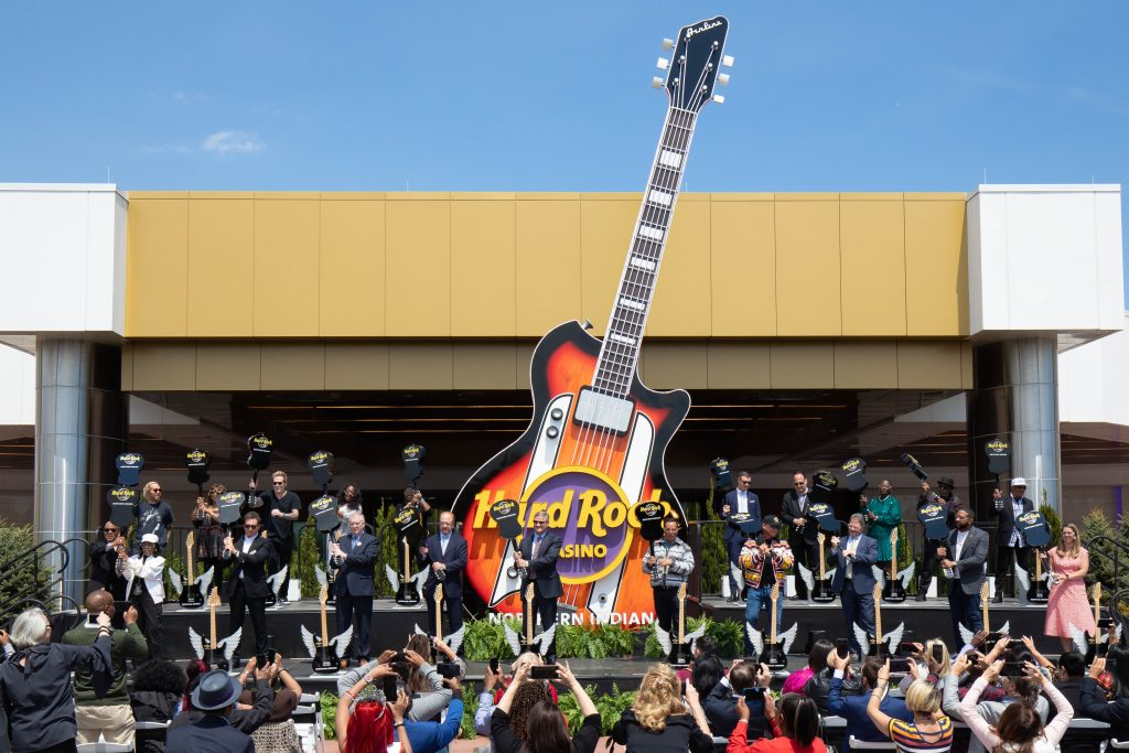 Hard Rock Casino Northern Indiana Grand Opening Event