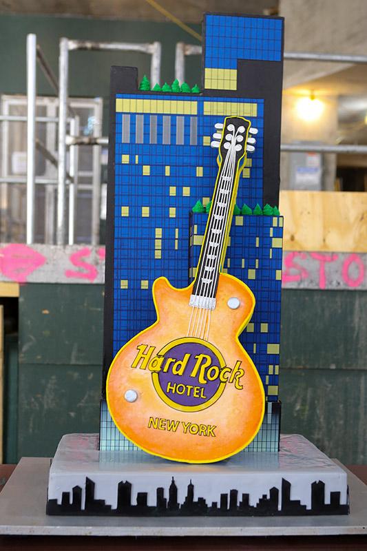 Hard Rock Hotel New York Cake