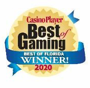 Casino Player Best of Gaming - Best of Florida Winner 2020 award